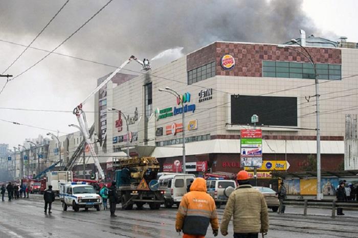 Торговый центр «Зимняя вишня» в Кемерово.