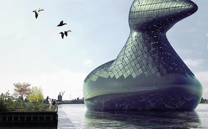 «Энергетическая утка» - гигантский генератор солнечной энергии.