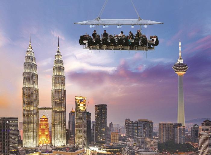 Ресторан в воздухе.