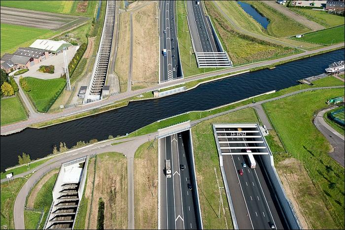 Ringvaart Haarlemmermeer. Нидерланды.