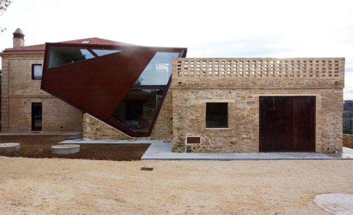 Архитекторский проект от Rocco Valentini.