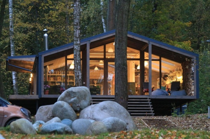 DublDom - модульный дом, который можно построить за 10 дней.