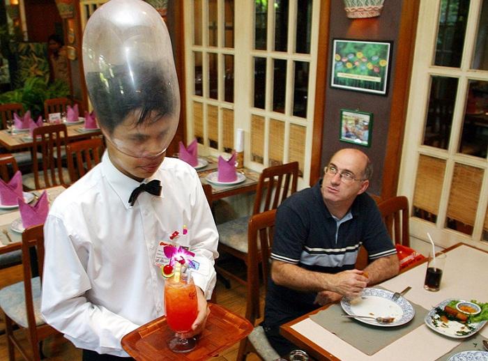 Cabbages and Condoms - тематический ресторан с презервативами.