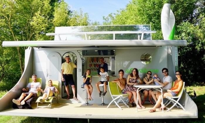 SCaraban - дом для отдыха для большой семьи.