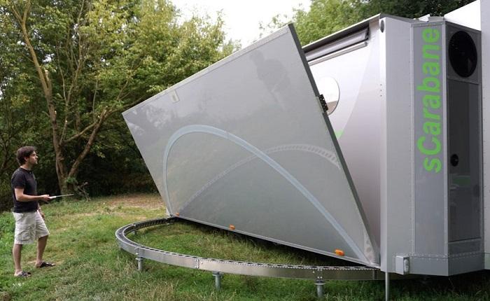 SCaraban - дом-трансформер на колесах.