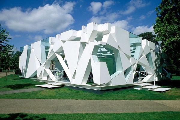 Serpentine gallery pavilion.