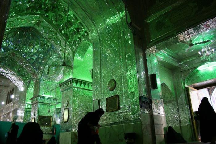 «Зеркальная мечеть» Шах-Черах.