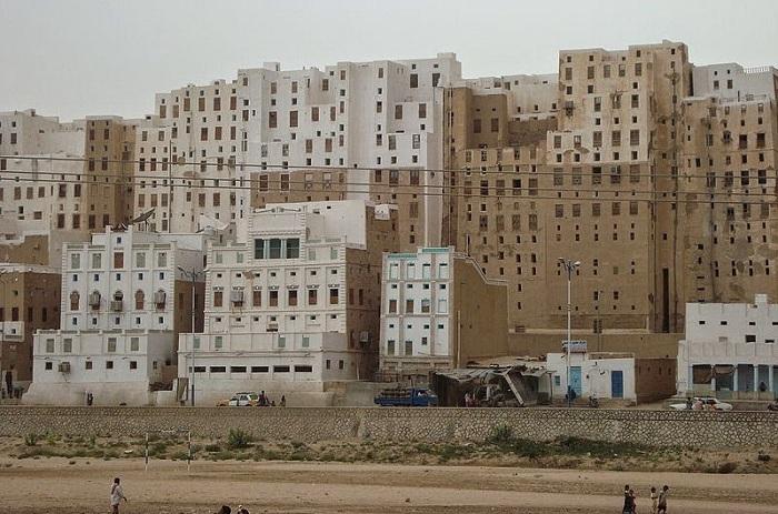 Shibam - город небоскребов в Йемене.