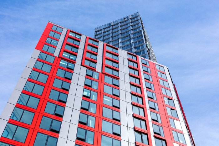 461Dean - самый высокий в мире модульный дом.