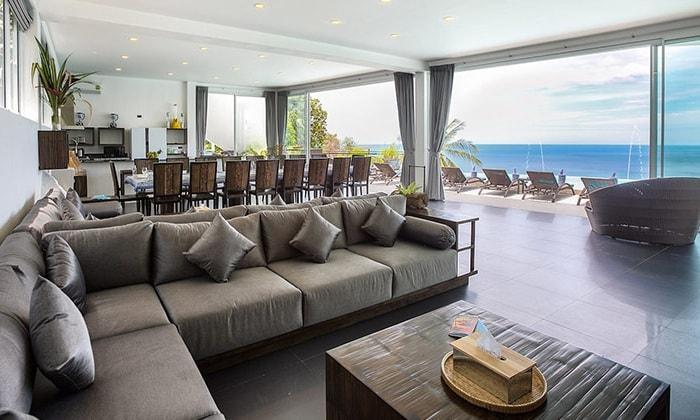 The Suan Kachamudee spa and resort. Общая комната для посетителей отеля.