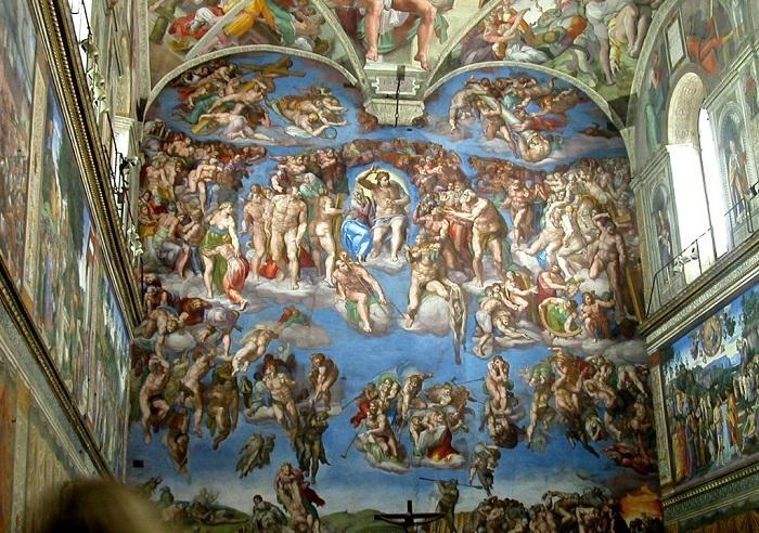Страшный суд. Микеланджело. |Фото: cdn.dipity.com.