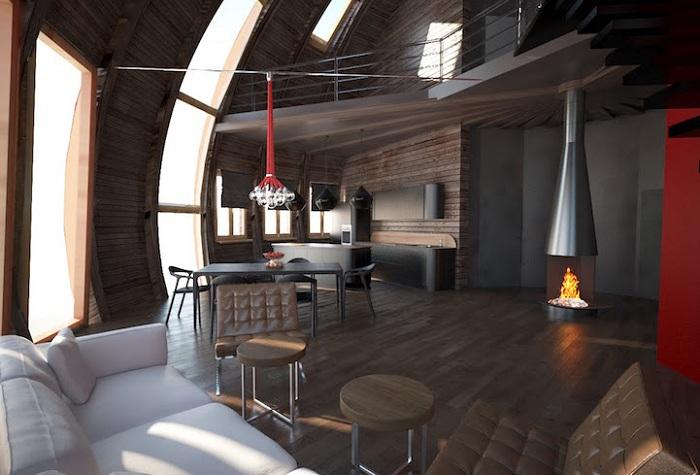 Skydome - экологичные дома в Подмосковье.