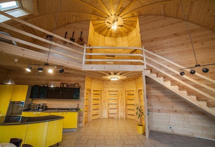 Дом площадью 170 кв. метров.