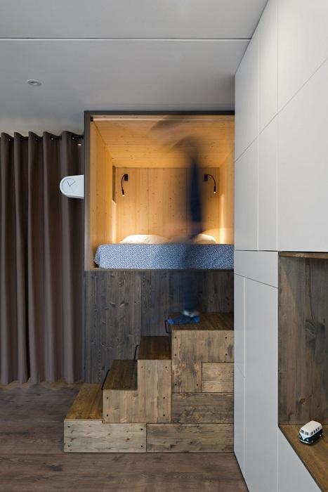 Дизайн квартиры, выполненный архитектором Alizera Nemati.