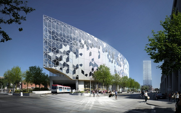 New Central Library - будущая центральная библиотека города Калгари.