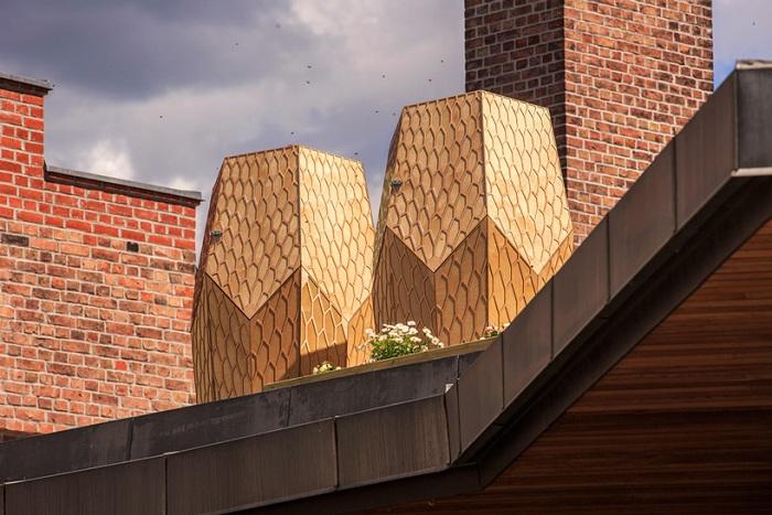 «Vulkan Beehive» - городские домики для пчел.