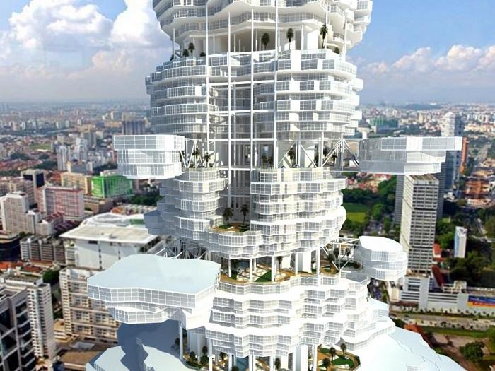 Cloud City - здание, напоминающее облако.
