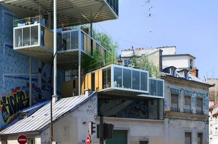 3Box - экологически чистое жилье в Париже.