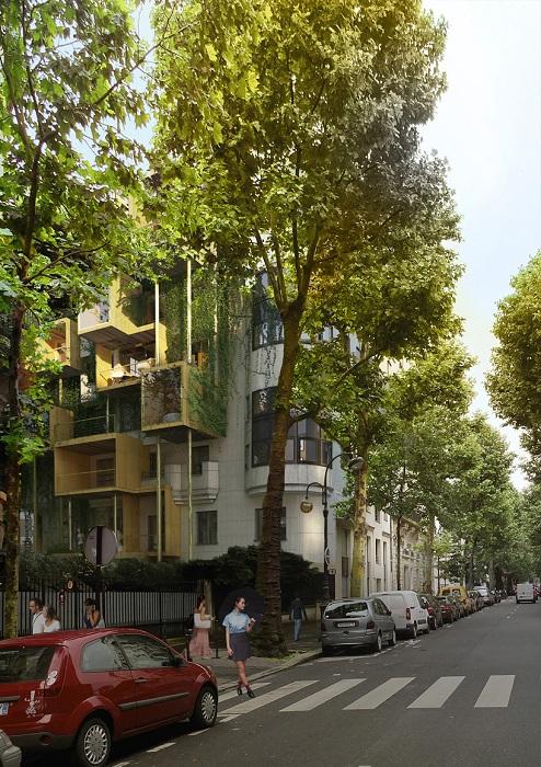 В 16 округе Парижа появятся квартиры-«паразиты» на старых домах.