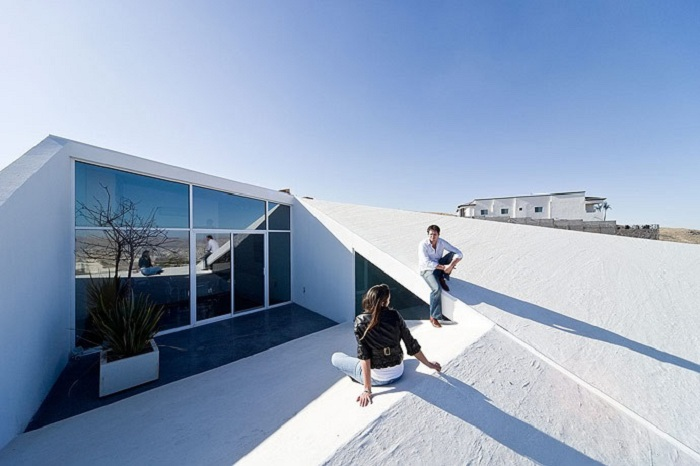 Терраса на крыше.