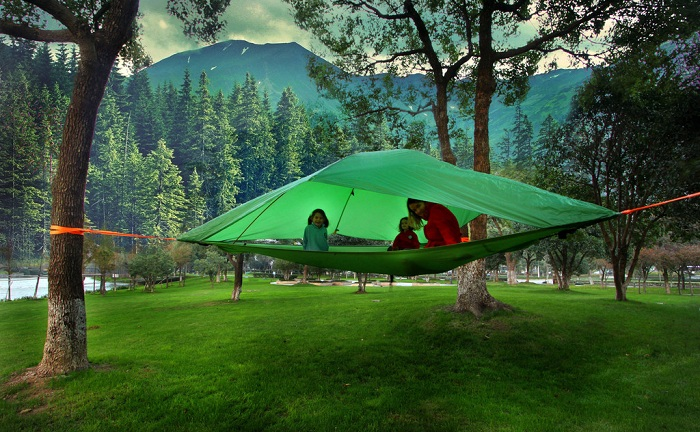 Подвесная палатка фирмы Tentsile.