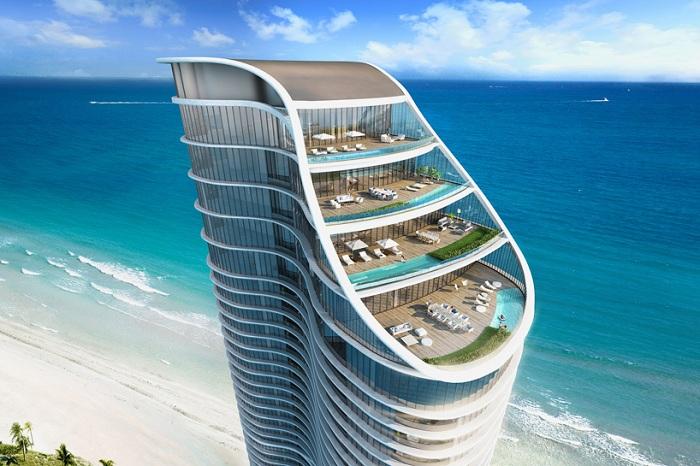 Sunny Isles Beach - будущий отель класса «люкс» в Майами.