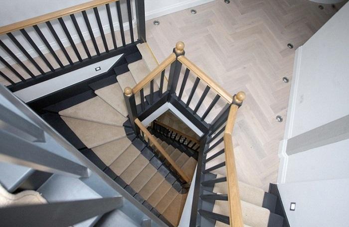 Лестница в доме-башне.