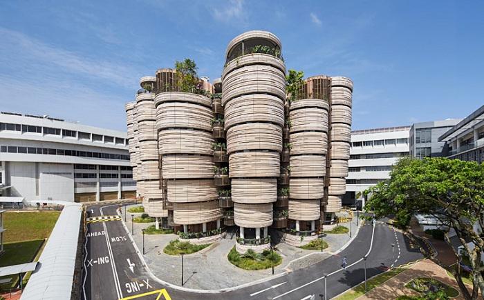 Инновационный учебный центр в Сингапуре.