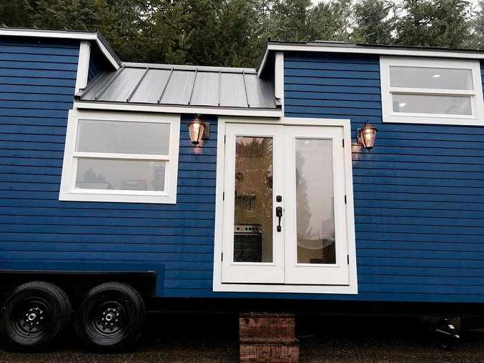 Дом на колесах от компании Tiny Heilroom.
