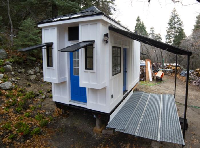 Дом, который был построен за 3 месяца.