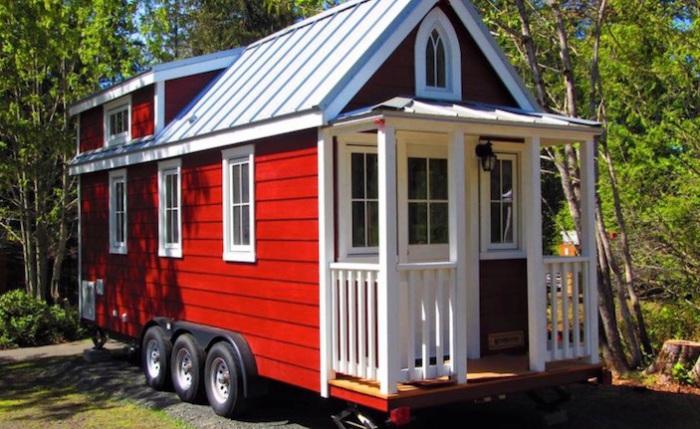 Tiny House - домик для отдыха на выходных.