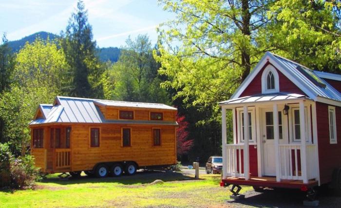 Уютные домики на колесах