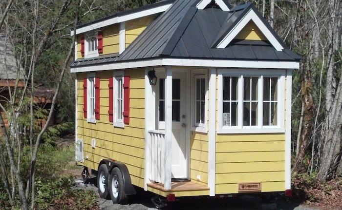 Мобильный домик производства компании Tumbleweed Tiny House Company.