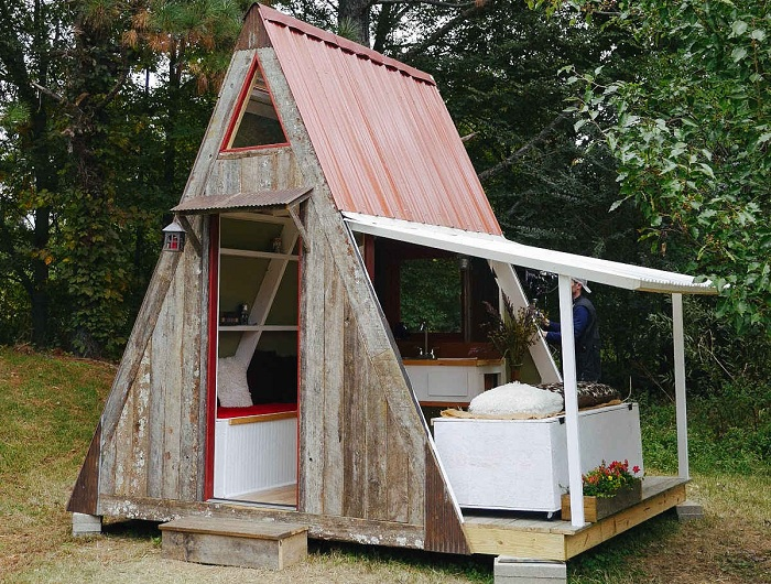 A-Frame Cabin - домик стоимостью $1000.