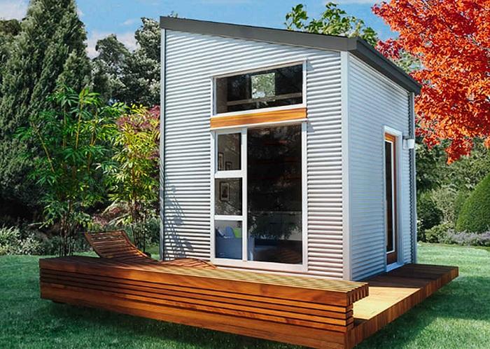 Микро-дом площадью 9,2 кв. метра.