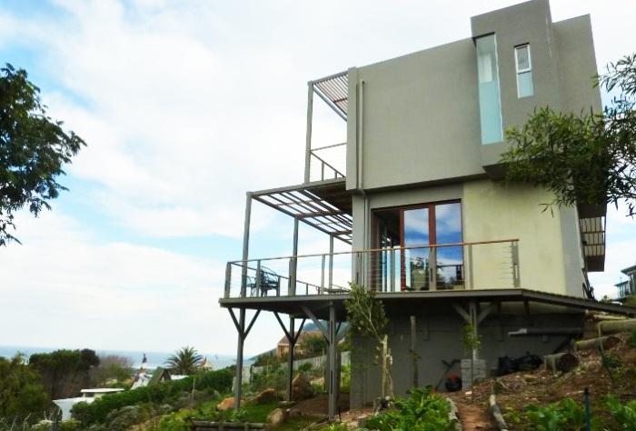 Hemp house - дом, построенный из костробетона.