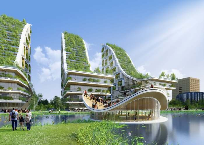 Проект, выполненный бельгийским архитектором Винсентом Каллебо.
