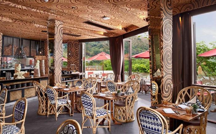 Keemala Eco Resort. Ресторан.