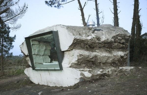 Дом-трюфель в Испании.