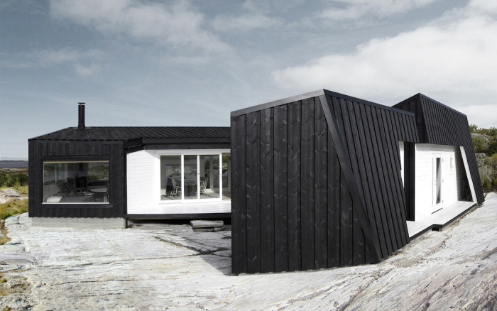 Особая форма дома, защищающая помещения от ветра.