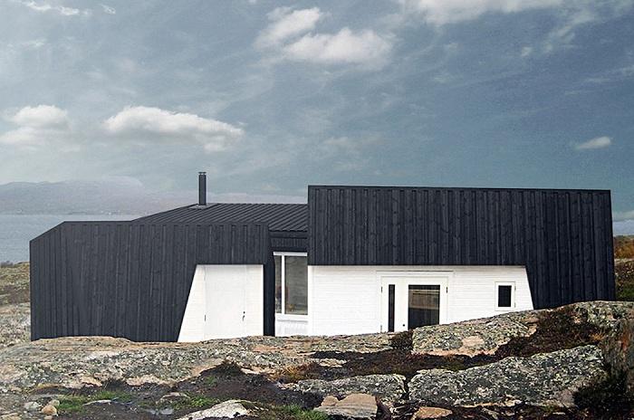 Архитекторский проект студии Fantastic Norway Architects.