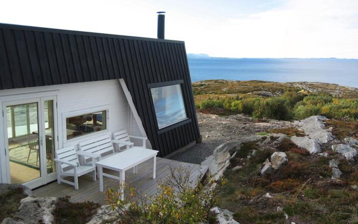 Cabin Vardehaugen - дом с видом на норвежский фьорд.