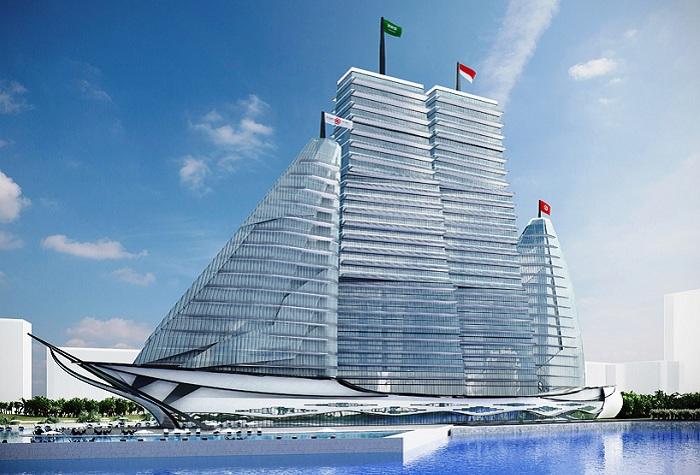 White Sails Hospital & Spa - будущий больничный комплекс в Тунисе.
