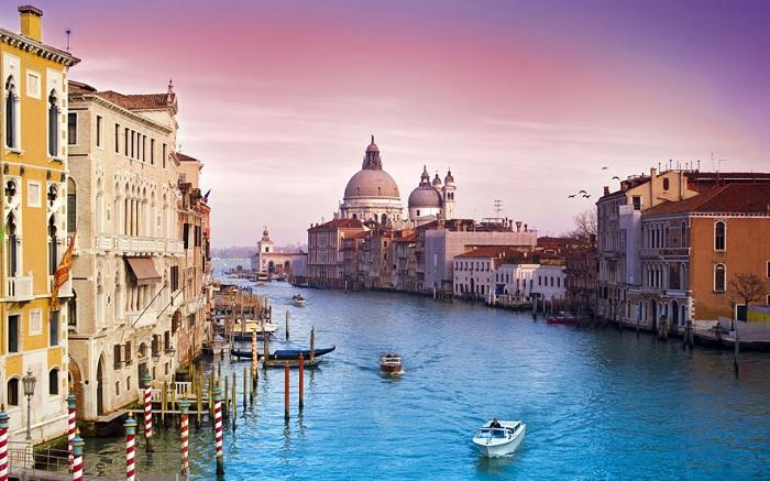 Венеция, Гранд канал.