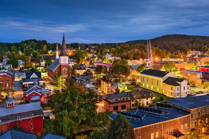 Американский штат Вермонт.