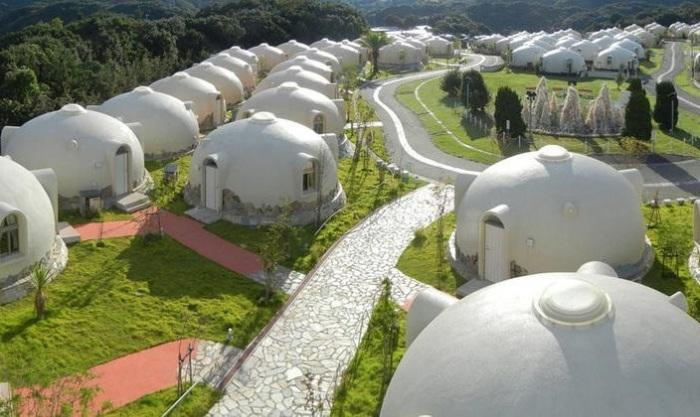 Купольные дома Japan Dome House.