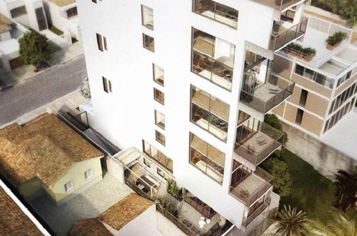 AIR-madalena. Каждый апартамент будет 2-этажным.