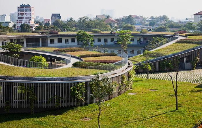 Проект архитектурной фирмы Vo Trong Nghia Architects.