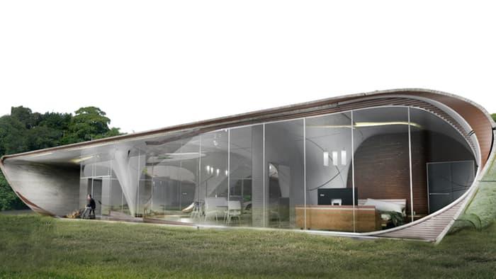 Curve Appeal - проект жилого дома, напечатанного на 3D-принтере.