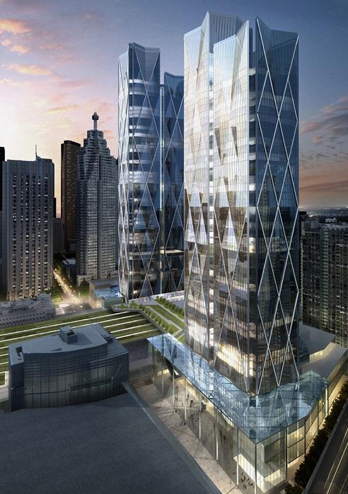 Проект архитектурной компании Wilkinson Eyre.